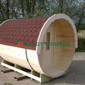 Barrel sauna 2.5 m